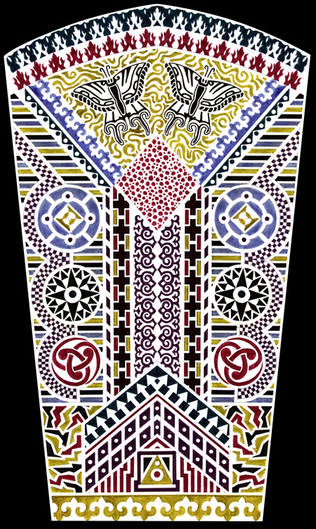 Mosaic Sleeve Screen-Print