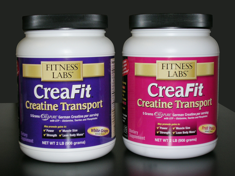 CreaFit Package Labels