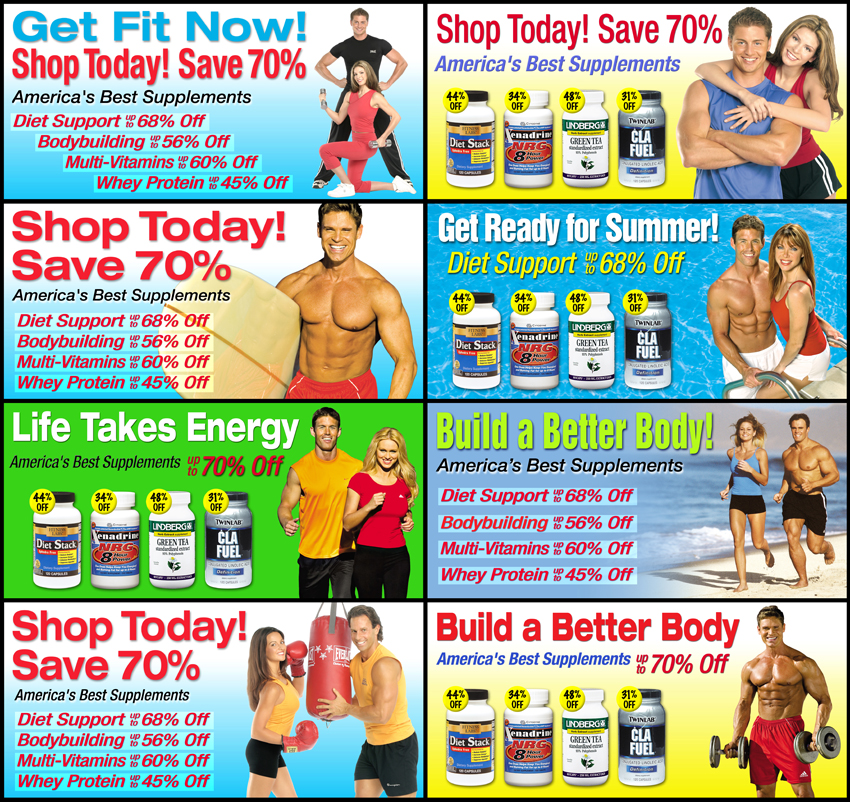 Health and Fitness Web Graphics